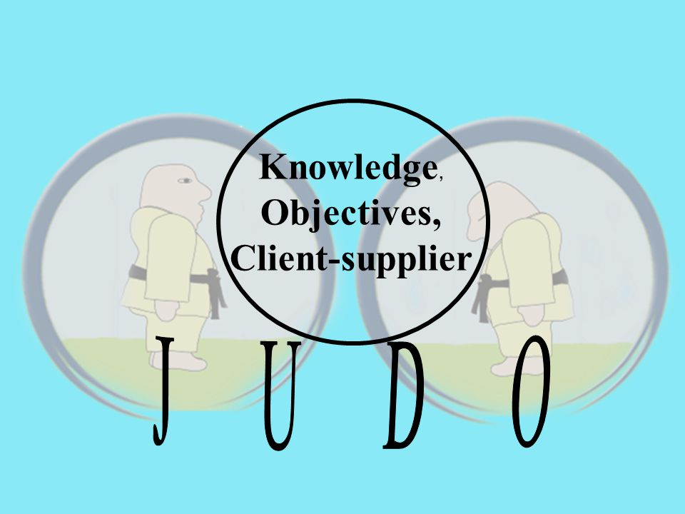 Knowledge, Objectives, Client-supplier