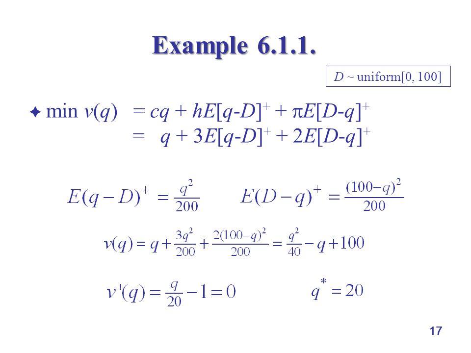 17 Example 6.1.1.