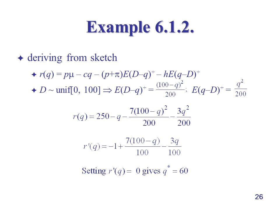 26 Example 6.1.2.