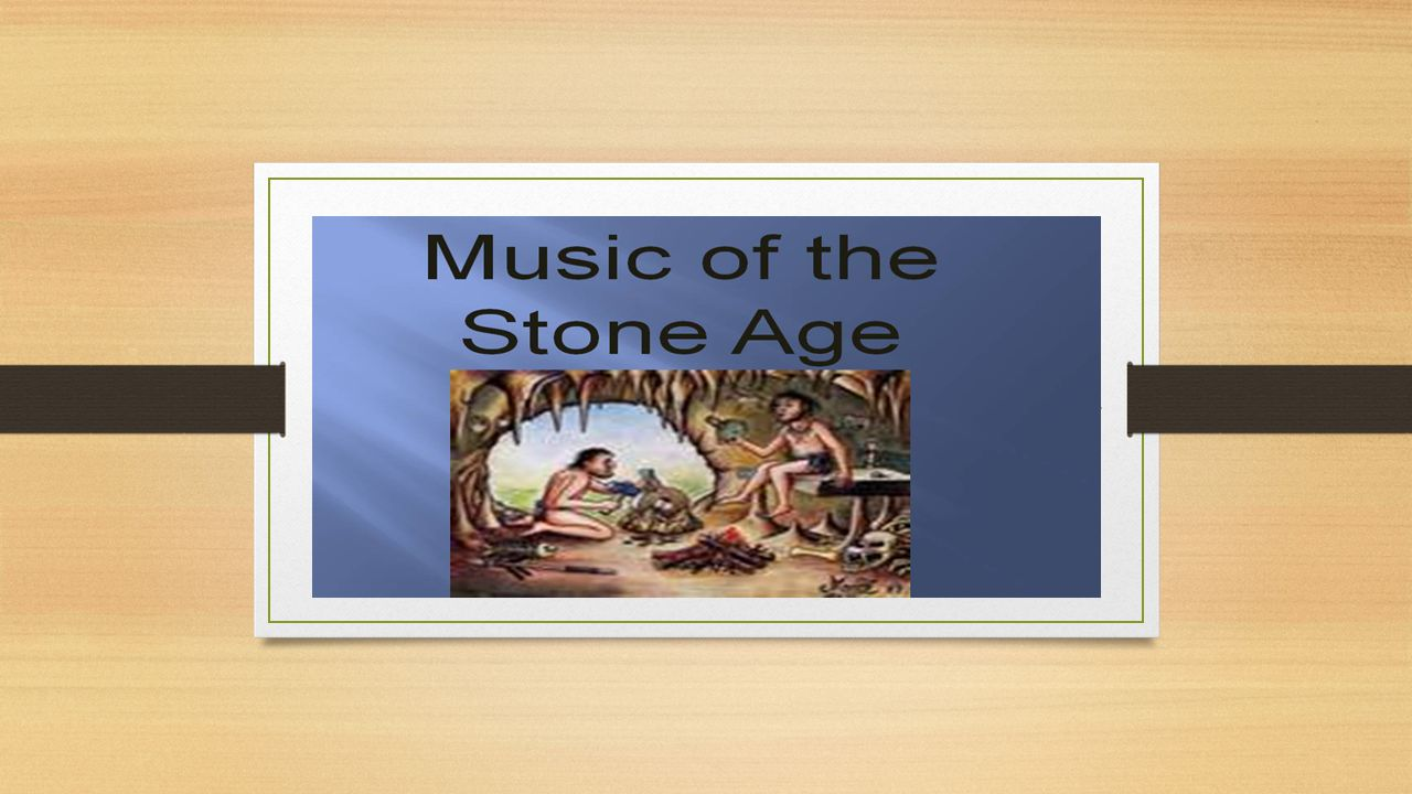 How do we know that people made music thousands of years ago.