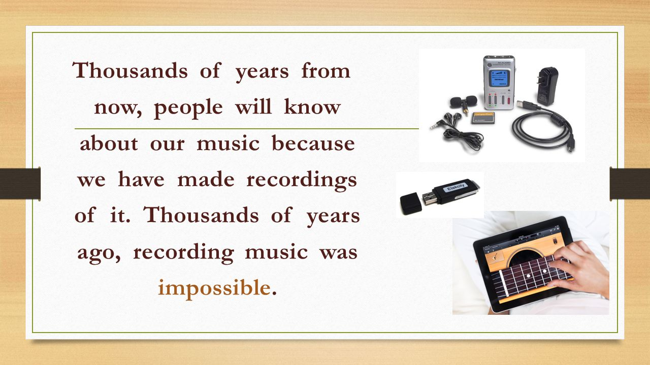 So how do we know that people long ago played music.