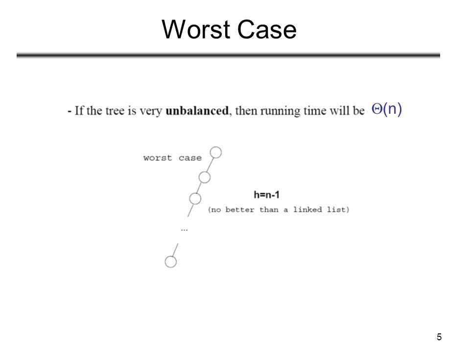 5 Worst Case  (n)