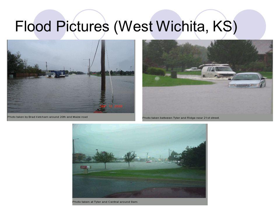 Flood Pictures (West Wichita, KS)