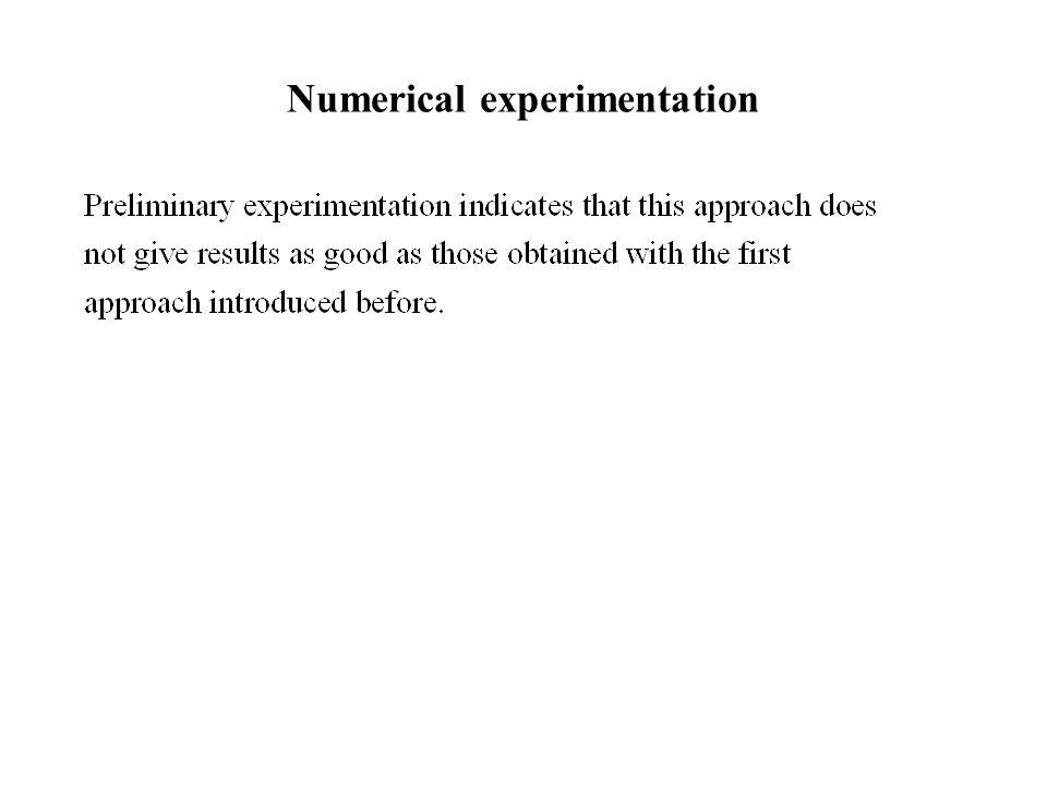 Numerical experimentation