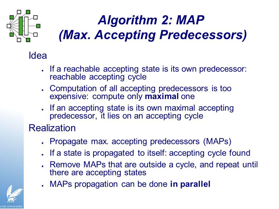 Algorithm 2: MAP (Max.