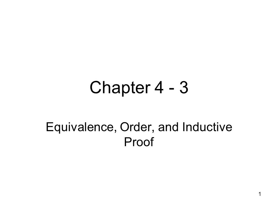 2 Section 4.3 Order Relations A binary relation is an partial order if it transitive and antisymmetric.