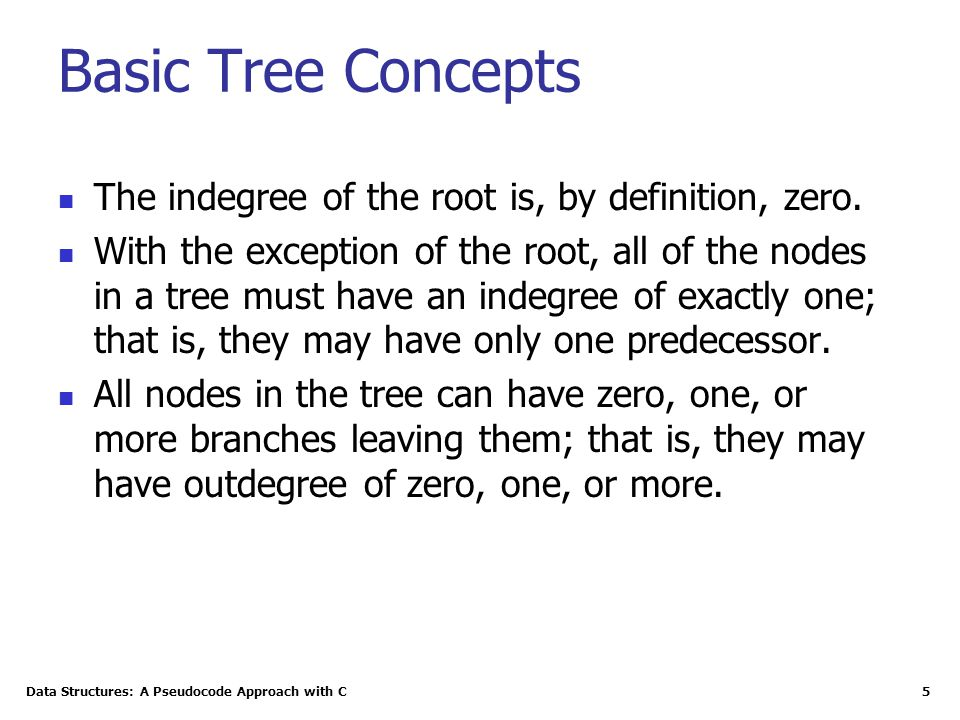 Data Structures: A Pseudocode Approach with C 26 Some Properties of Binary Trees The minimum height of a binary tree is determined as follows: For instance, if there are three nodes to be stored in the binary tree (N=3) then H min =2.