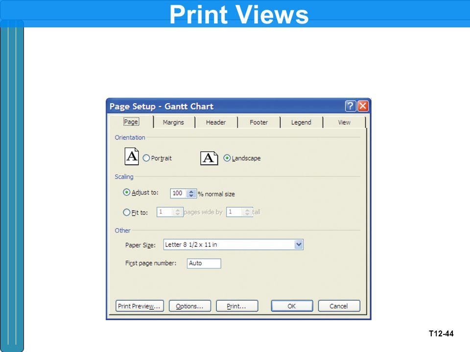 T12-44 Print Views