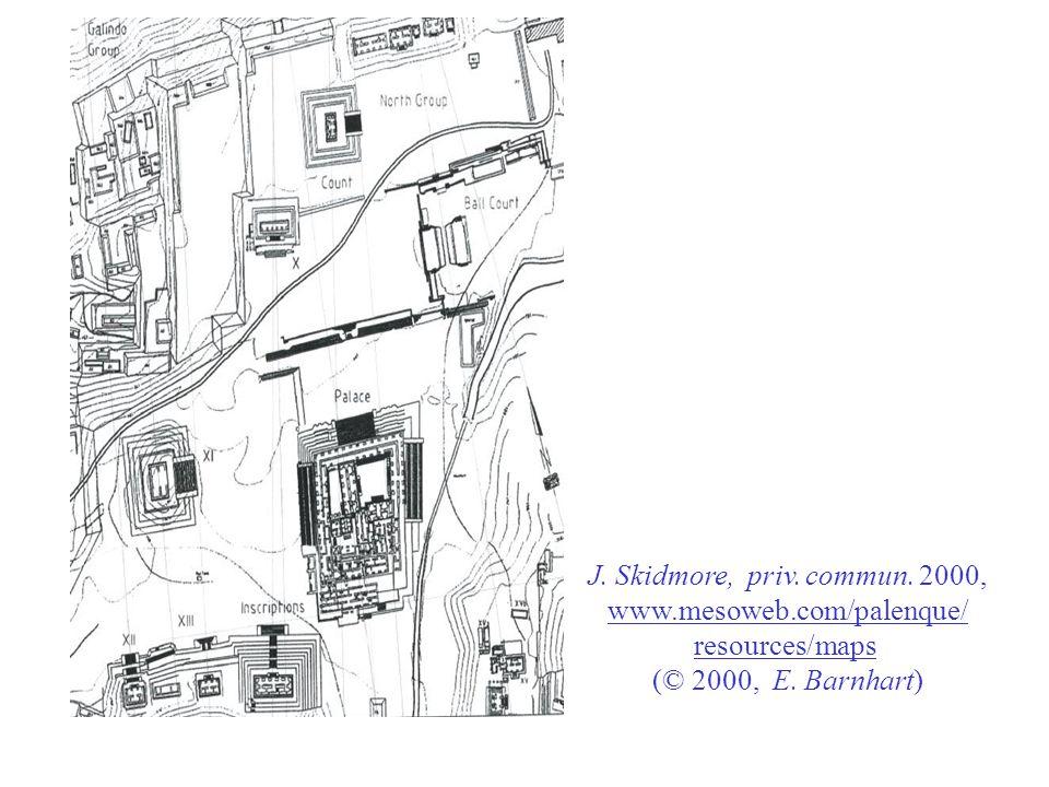 J. Skidmore, priv. commun. 2000, www.mesoweb.com/palenque/ resources/maps (© 2000, E. Barnhart)