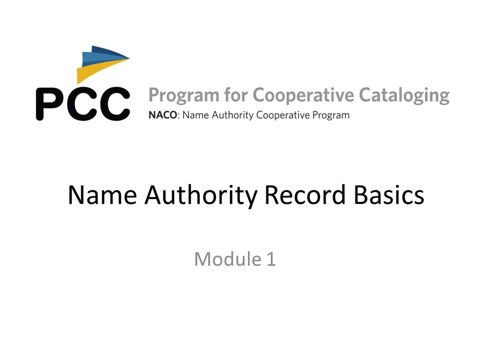 The MARC Authority Format In NACO practice descriptions of persons, families, corporate bodies, works, and expressions are created in the MARC Authority Format.