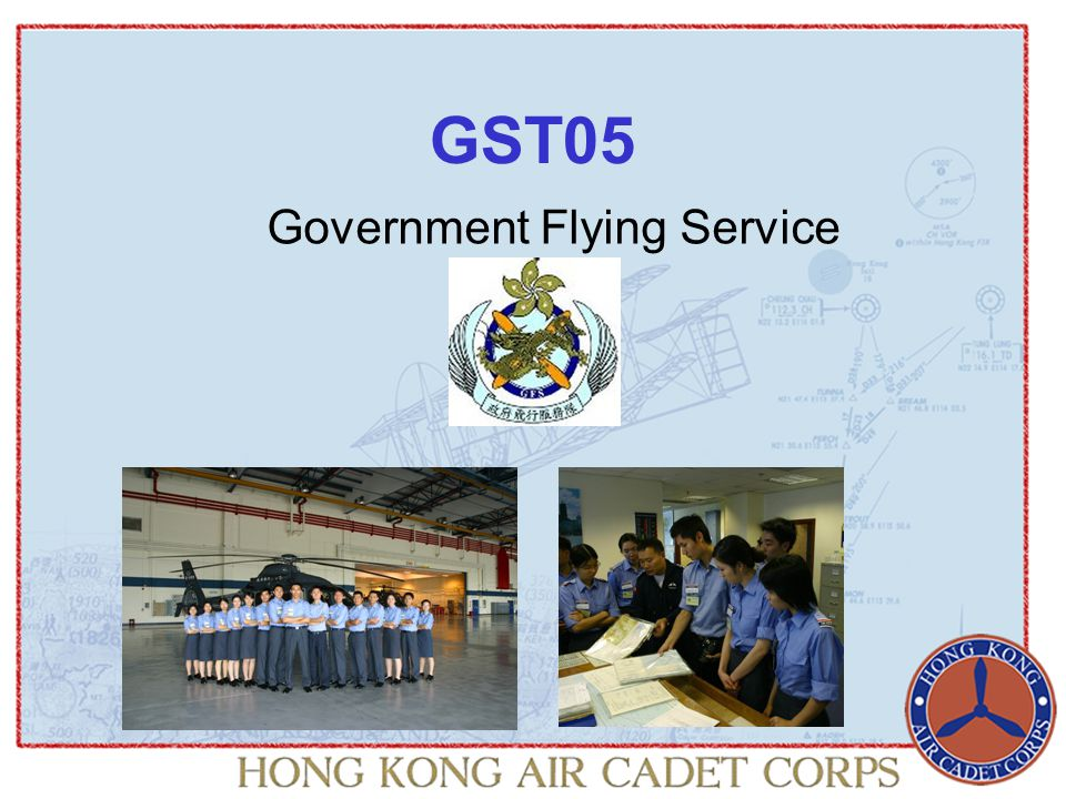 Government Flying Service GST05