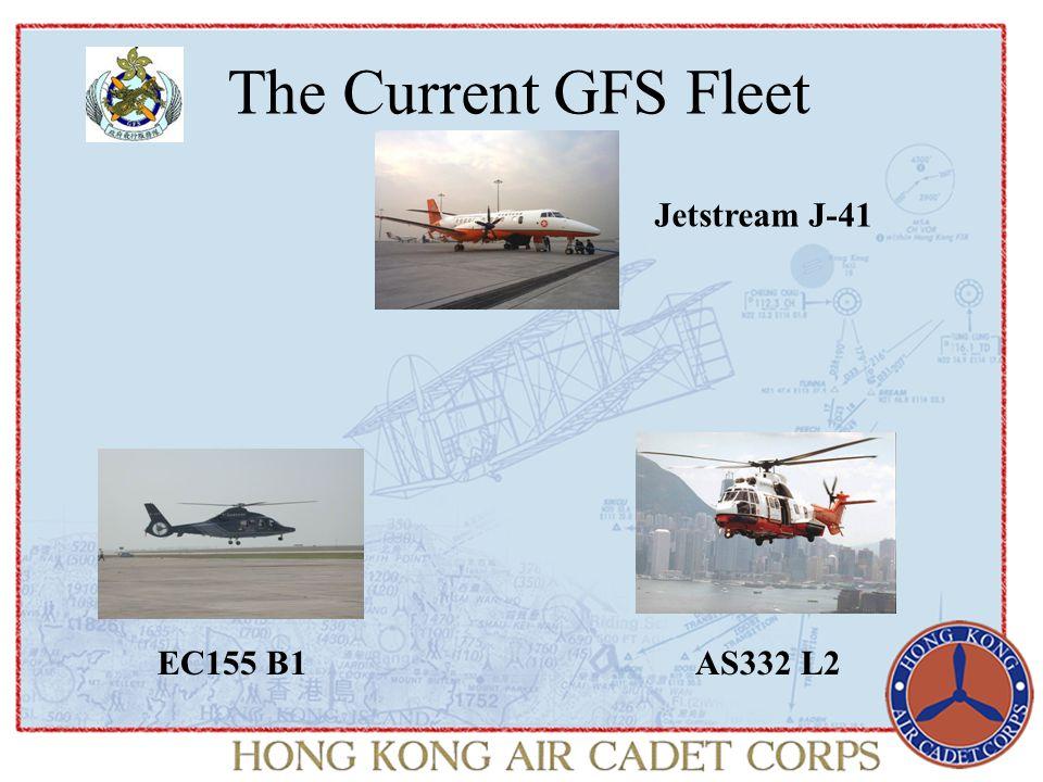 The Current GFS Fleet Jetstream J-41 EC155 B1AS332 L2