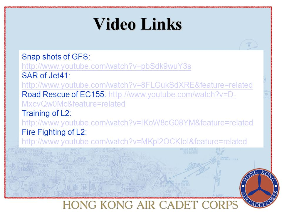 The GFS Structure Captain Michael C P Chan, Controller, Government Flying Service The GFS is headed by the Controller who reports directly to the Secretary for Security.