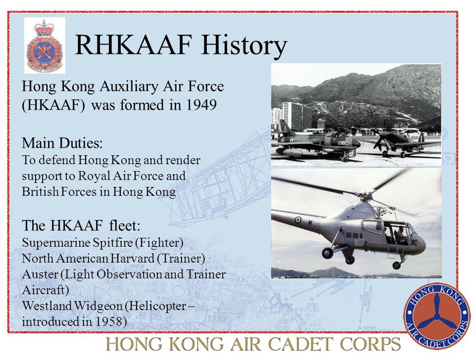 RHKAAF History HKAAF was granted the title of Royal by Queen Elizabeth II in 1970.