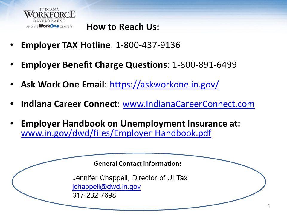 Unemployment Insurance EMPLOYER PREMIUMS 5