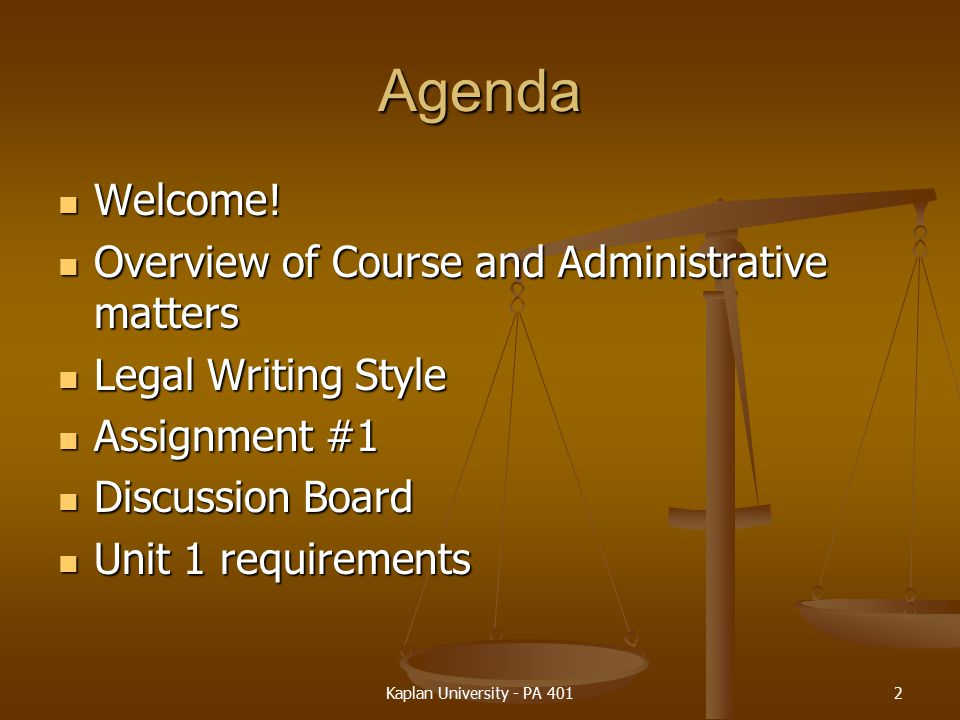 Agenda Welcome.Welcome.