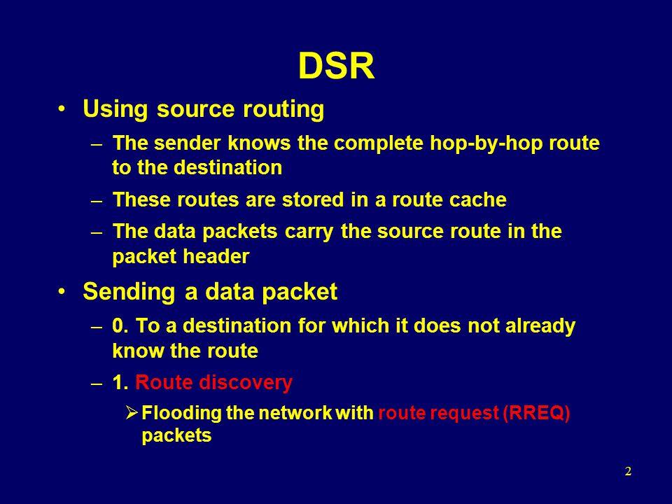 13 DSR vs.