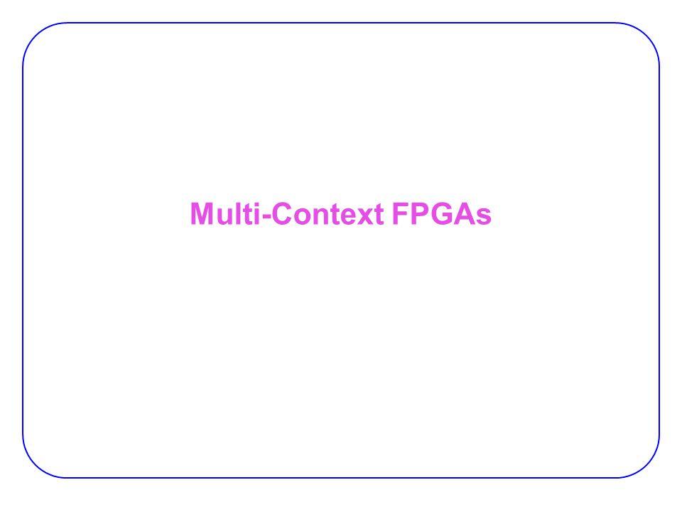 Multi-Context FPGAs