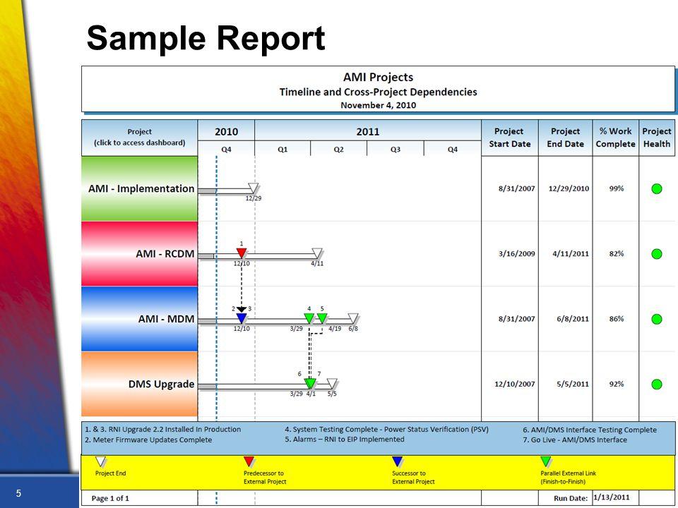 5 Sample Report