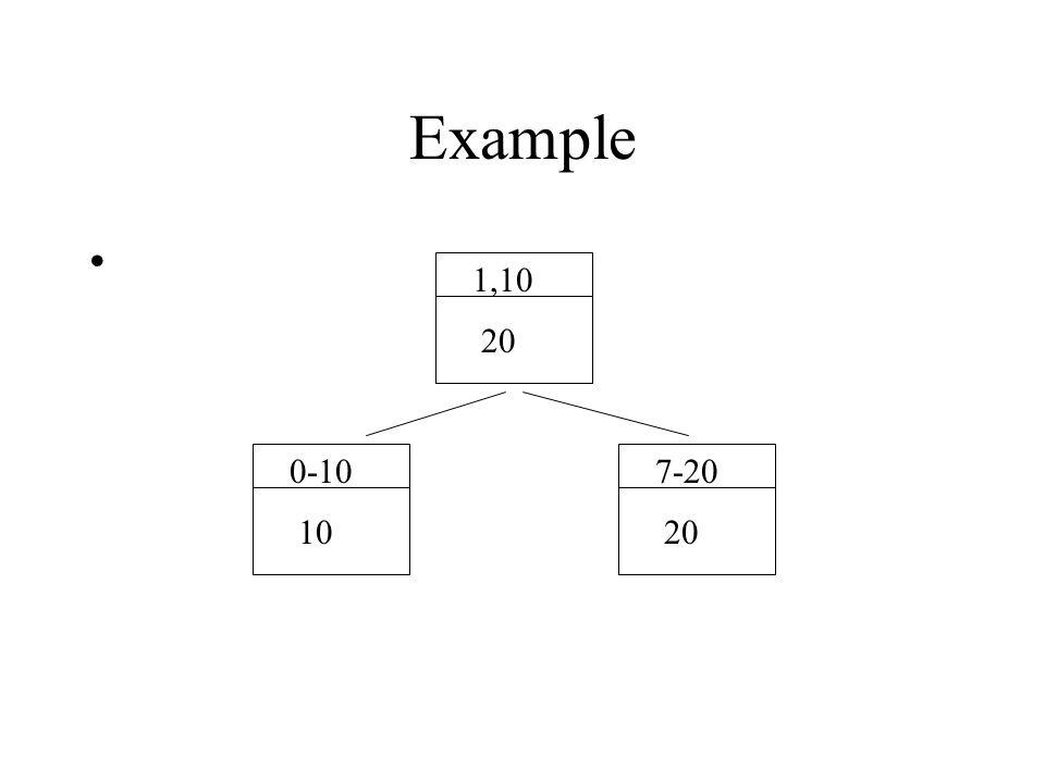 Example 1,10 20 0-10 10 7-20 20