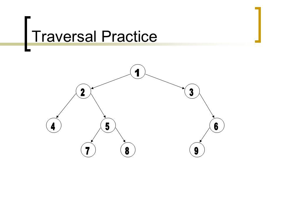 Traversal Practice