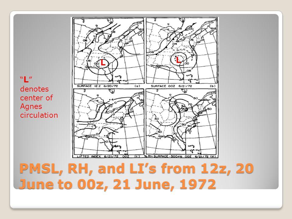 Buffalo, NY Sounding, 00 UTC, 21 June, 1972 WCD of around 3.5 km