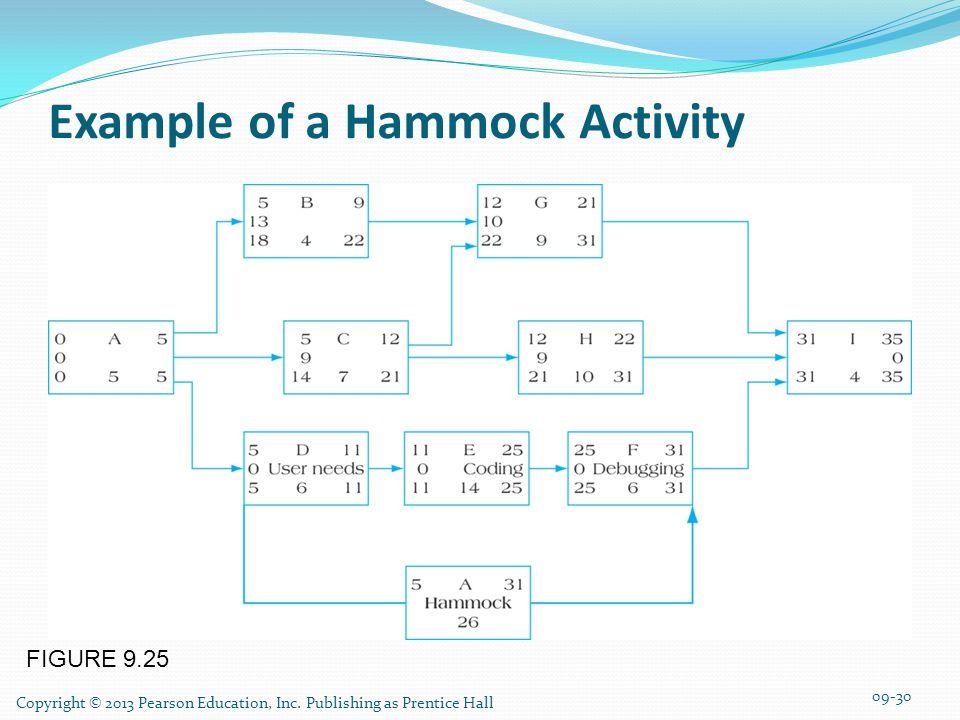 FIGURE 9.25 Example of a Hammock Activity 09-30 Copyright © 2013 Pearson Education, Inc.