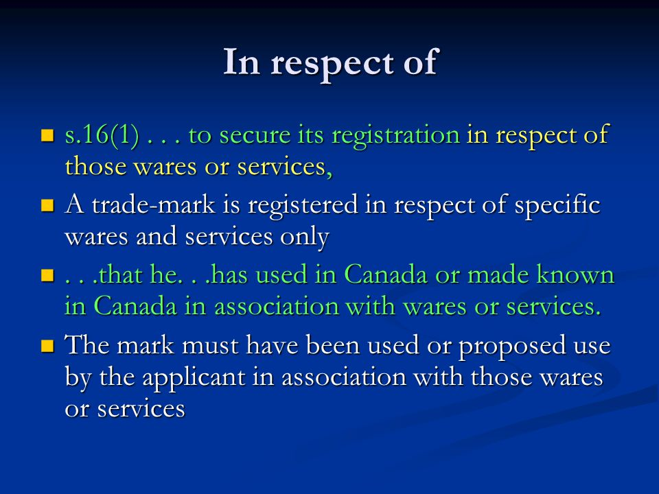 In respect of s.16(1)...