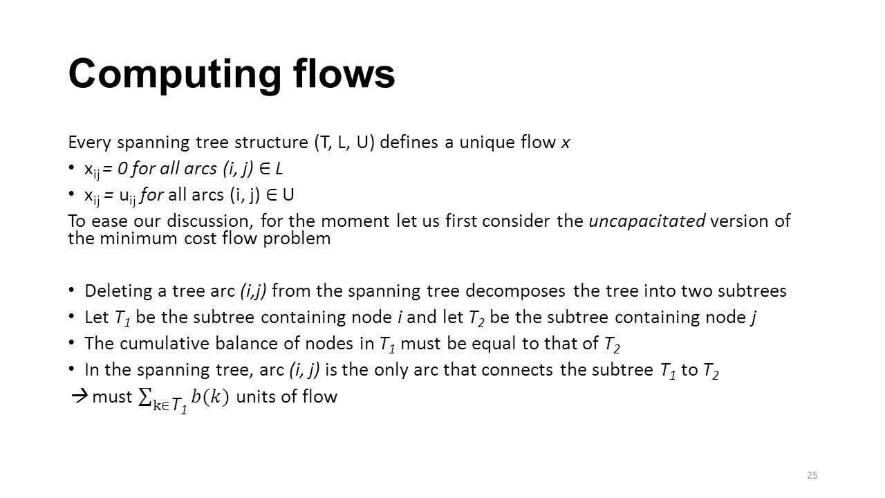 Computing flows 25