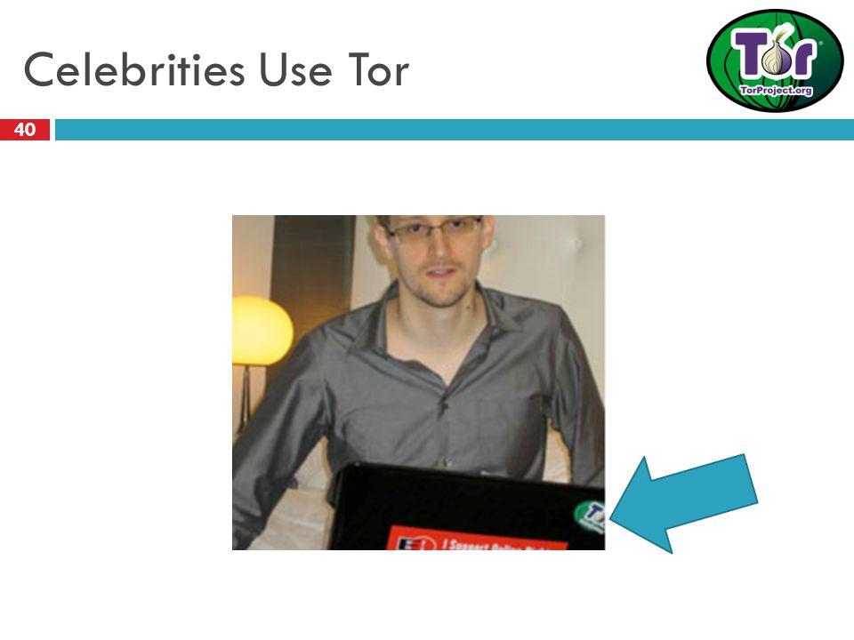 Celebrities Use Tor 40