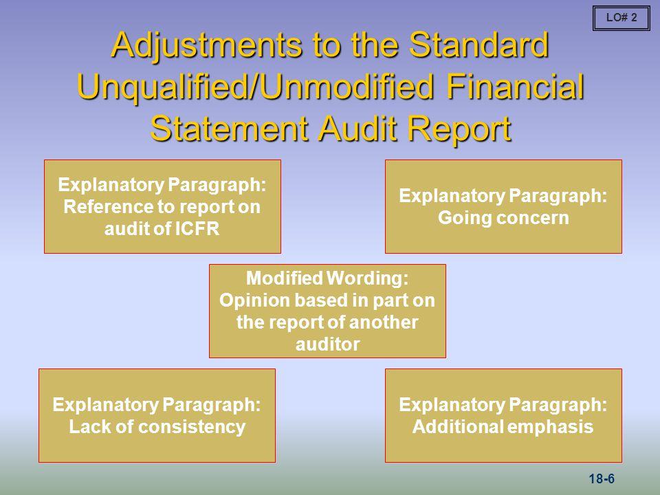 Scope Limitation: Qualified LO# 5 18-17