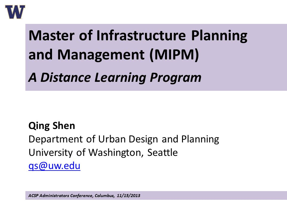 I.Introduction to the MIPM Program II.What Makes the Program Viable? III.What Are the Challenges?