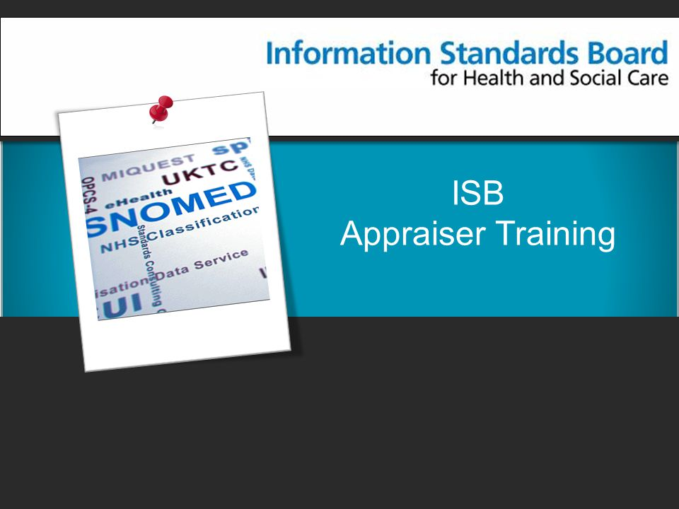 ISB Appraiser Training
