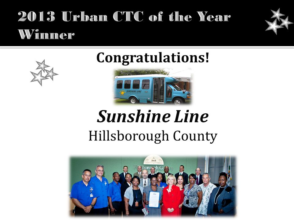 Congratulations! Sunshine Line Hillsborough County