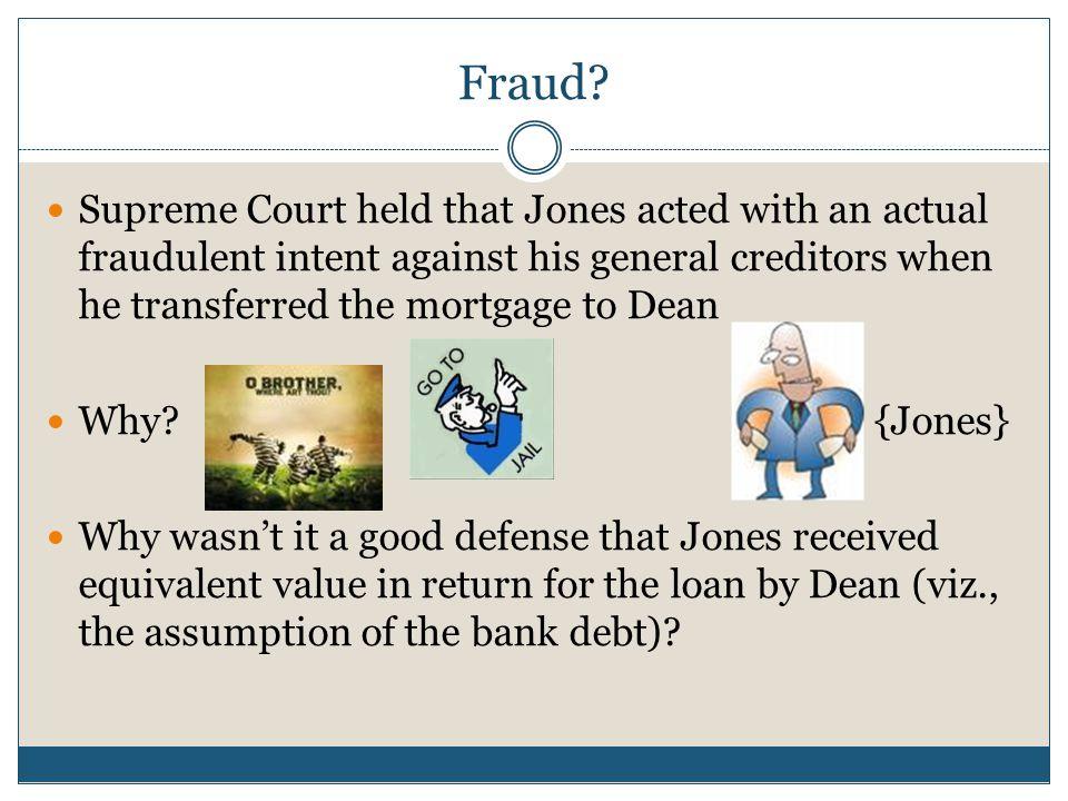 Fraud.