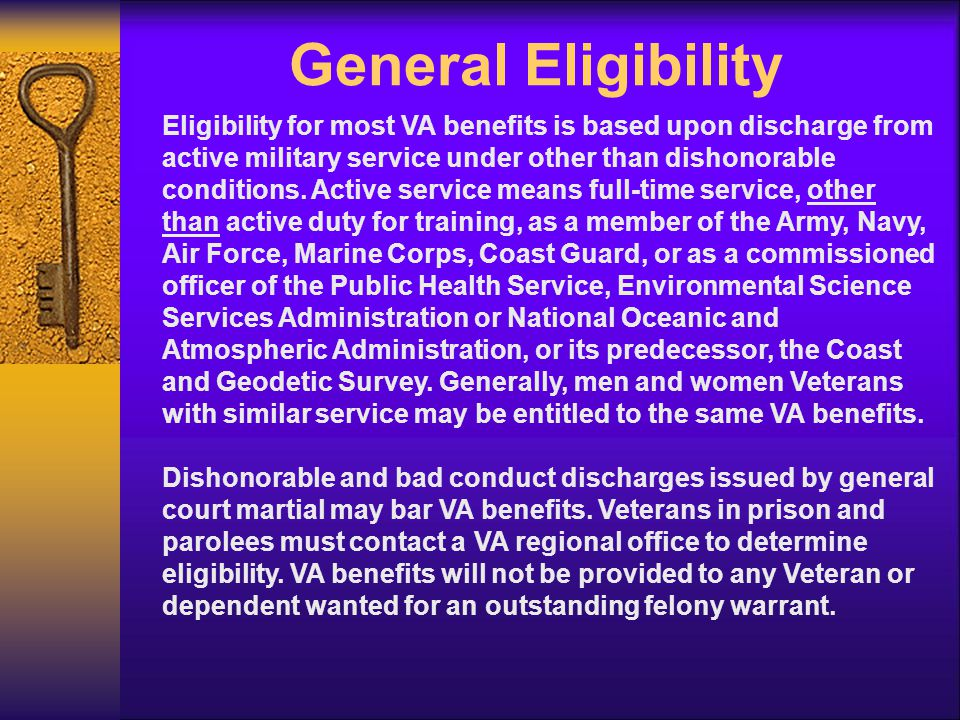 TIME LIMIT TO APPLY There is NO time limit to Apply for Compensation or Pension For Compensation, benefits will be paid retroactive to the date of separation/retirement if VA receives the application within one year of the separation/retirement