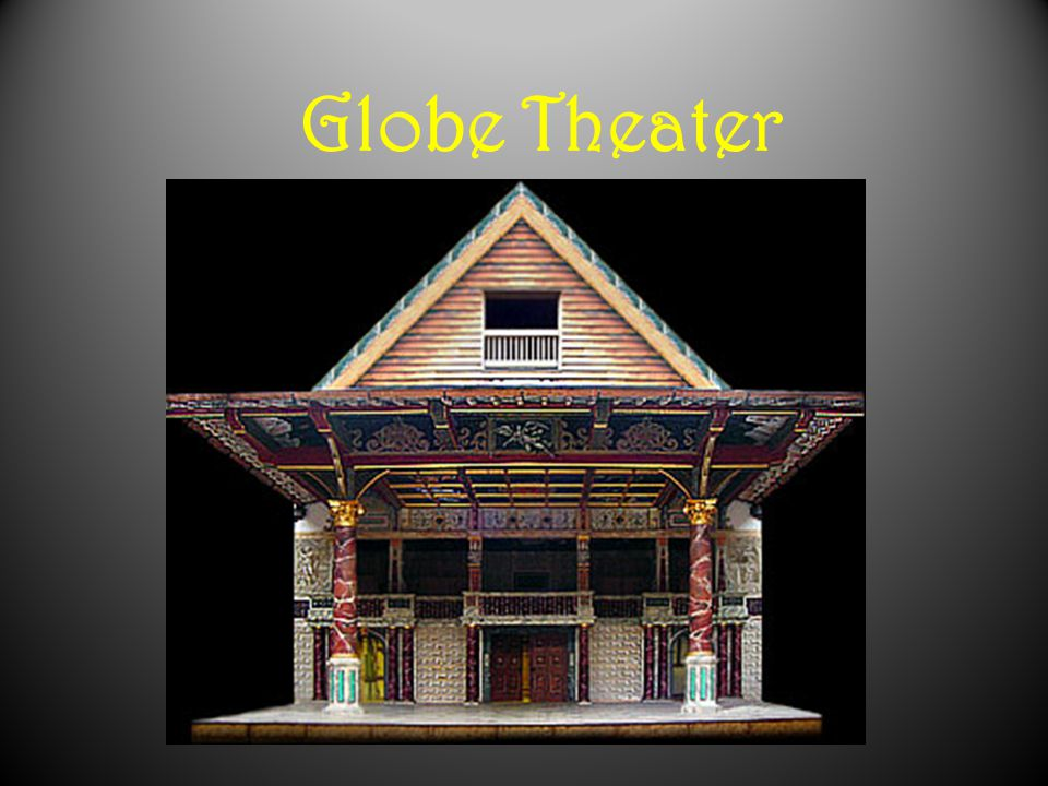 The Globe Theatre was constructed in 1598.It became one of four major theaters in London.