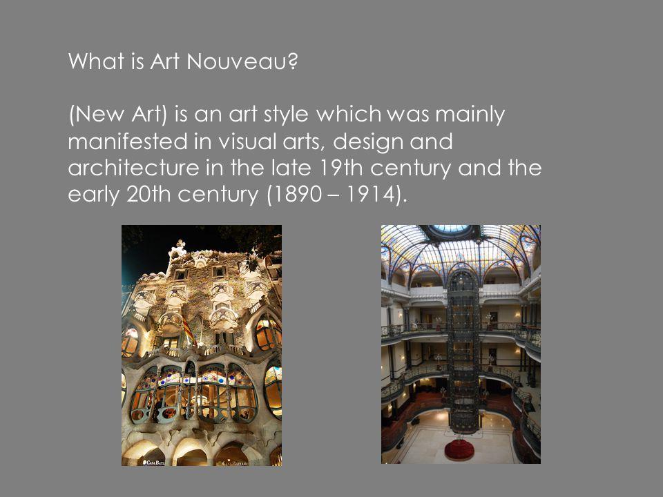 What is Art Nouveau.