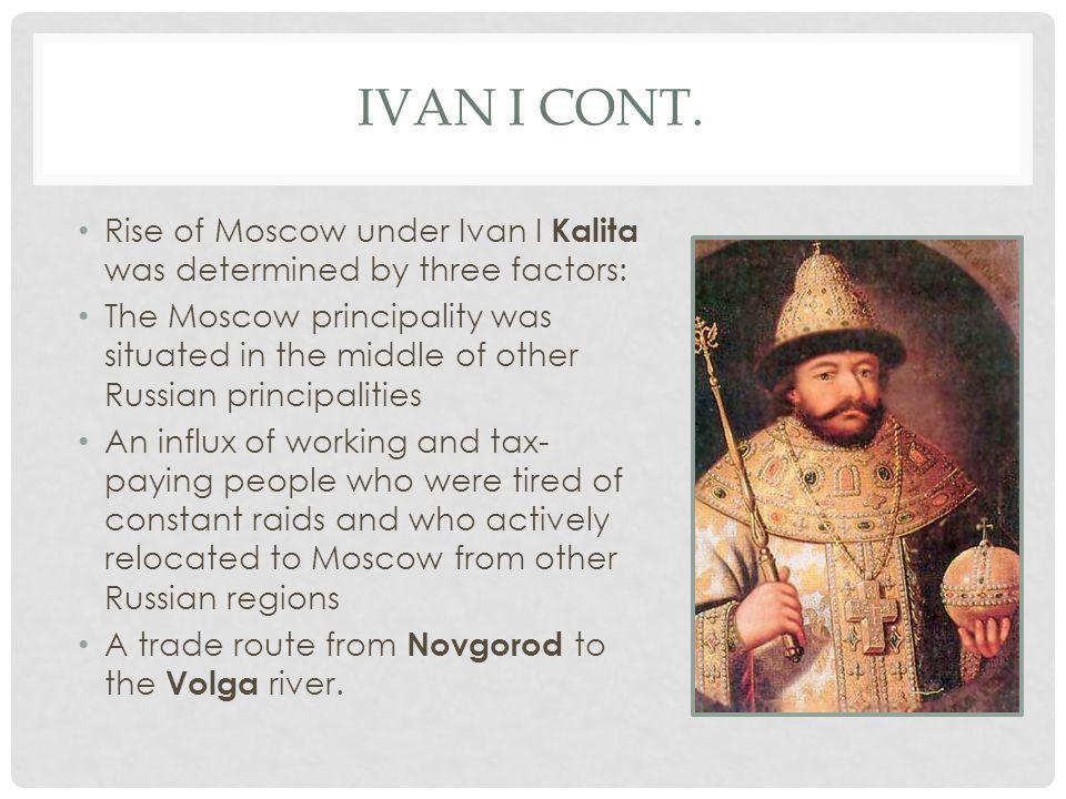 IVAN I CONT.