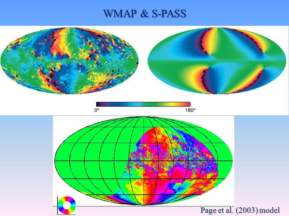 WMAP & S-PASS Page et al. (2003) model