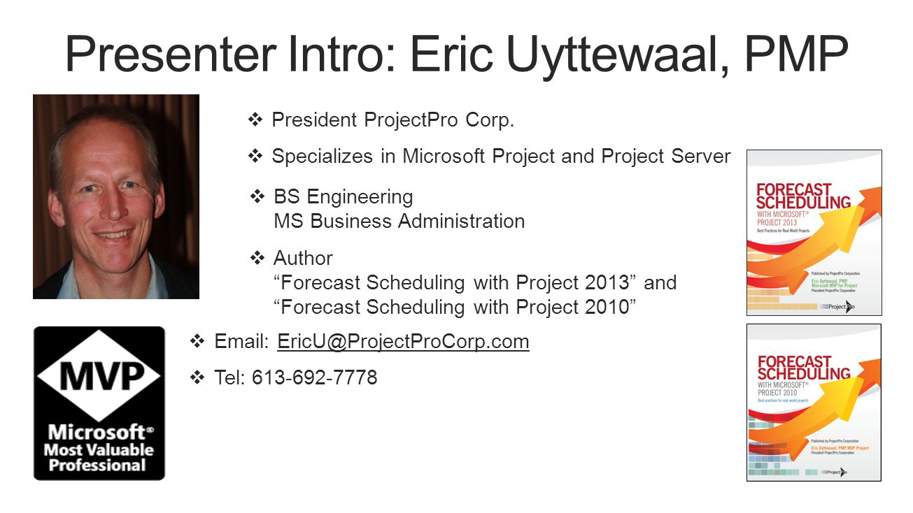  President ProjectPro Corp.