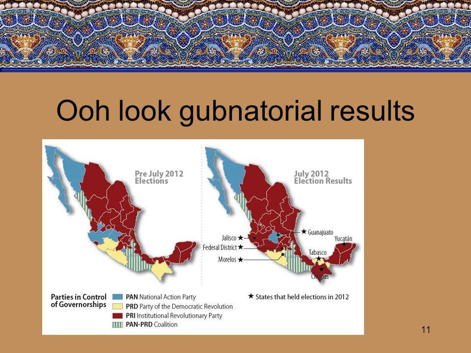 Ooh look gubnatorial results 11