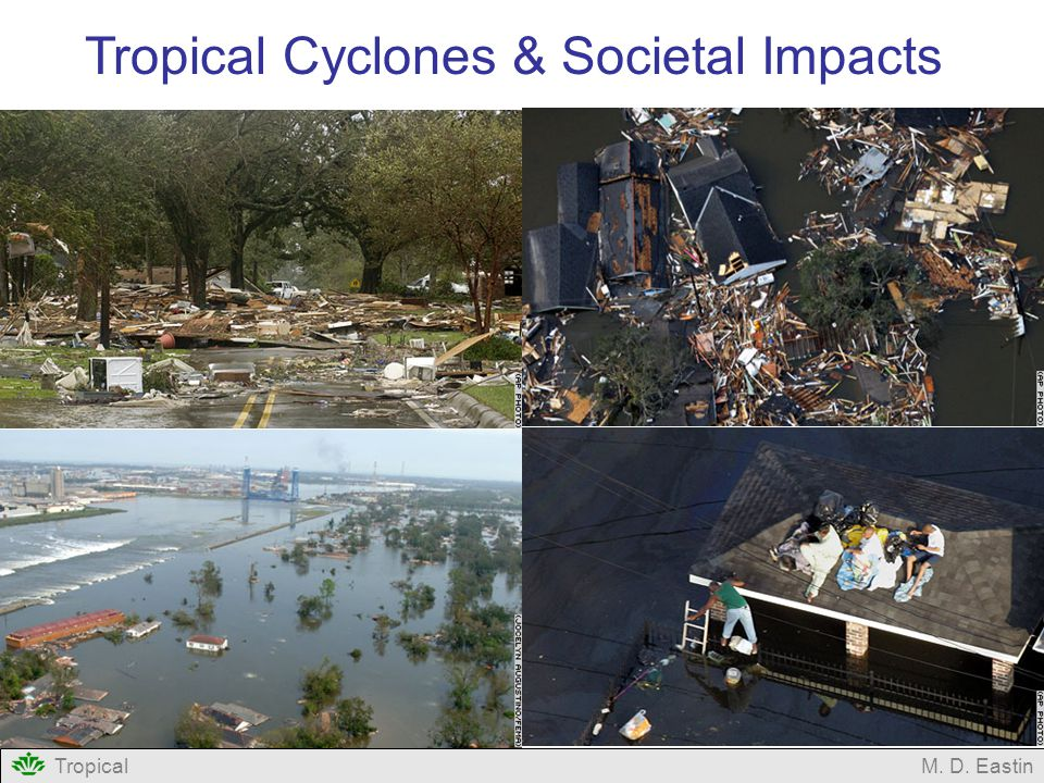 TropicalM. D. Eastin Tropical Cyclones & Societal Impacts