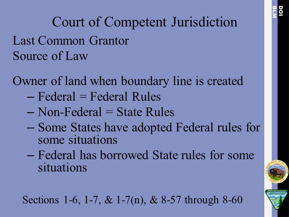 Longview Fibre Co., 135 IBLA 170 (1996) Conclusion of law: Bona Fide Rights Q.