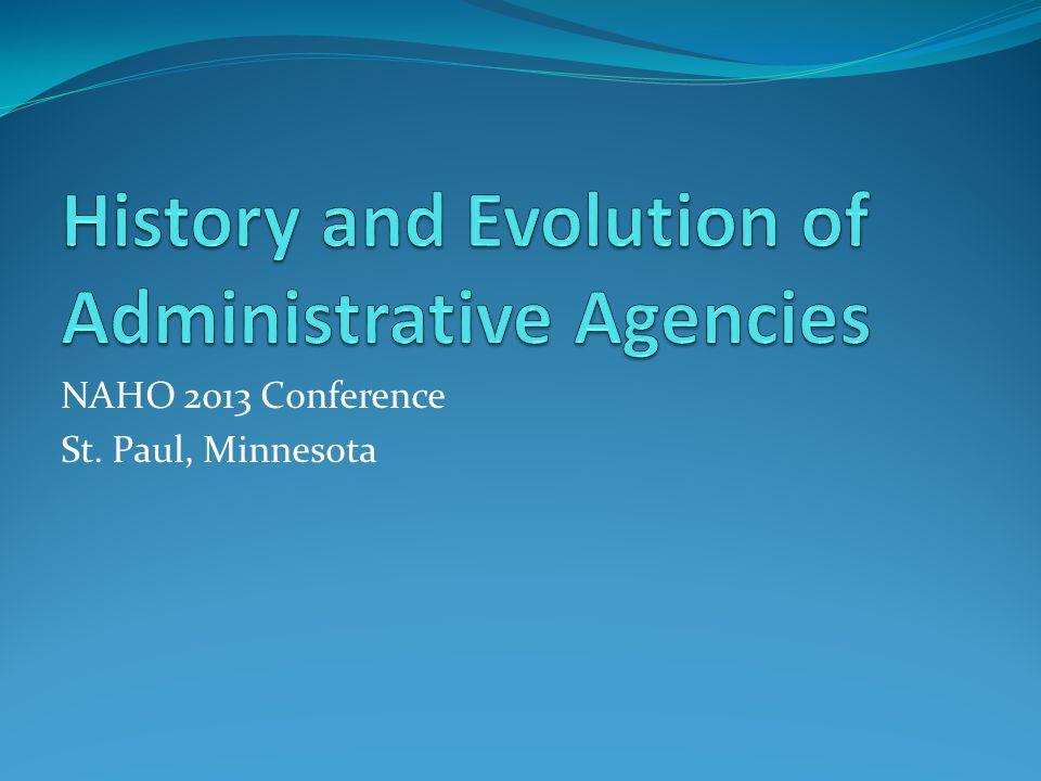 NAHO 2013 Conference St. Paul, Minnesota