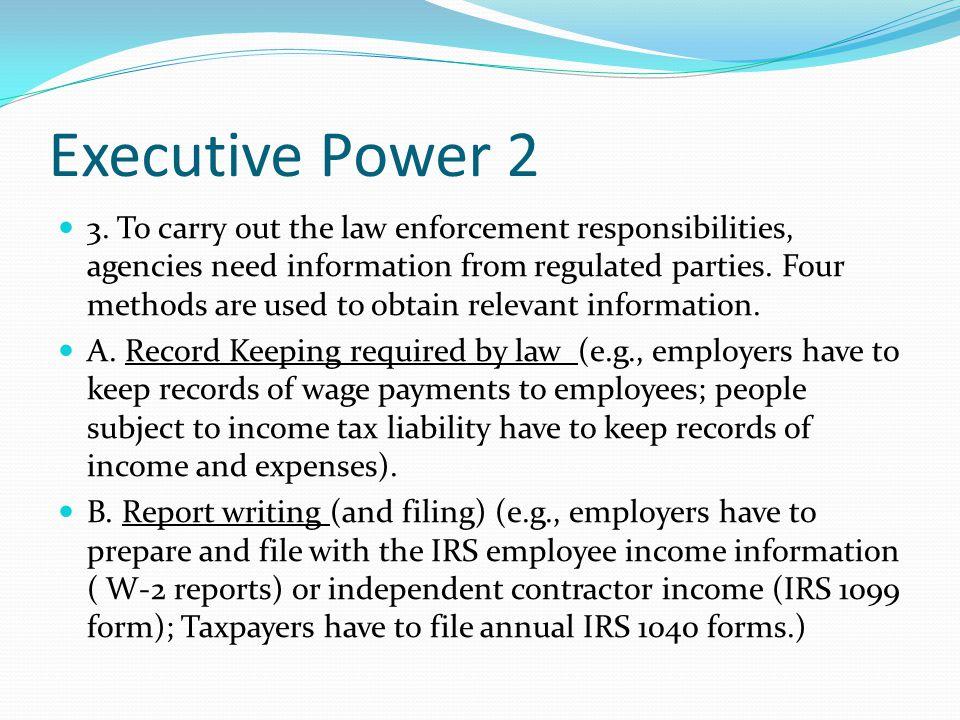 Executive Power 2 3.