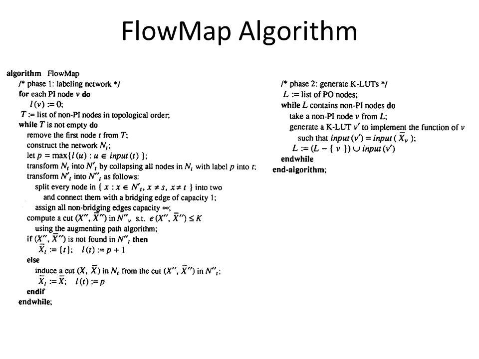 FlowMap Algorithm