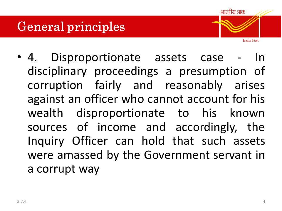 General principles 4.