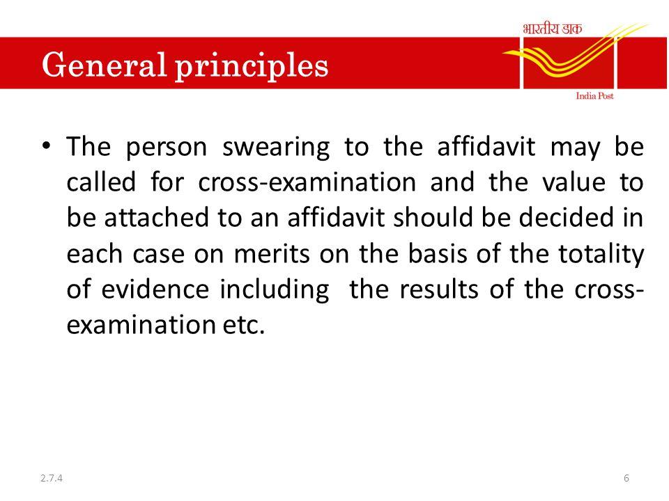 Ex-parte proceedings 5.