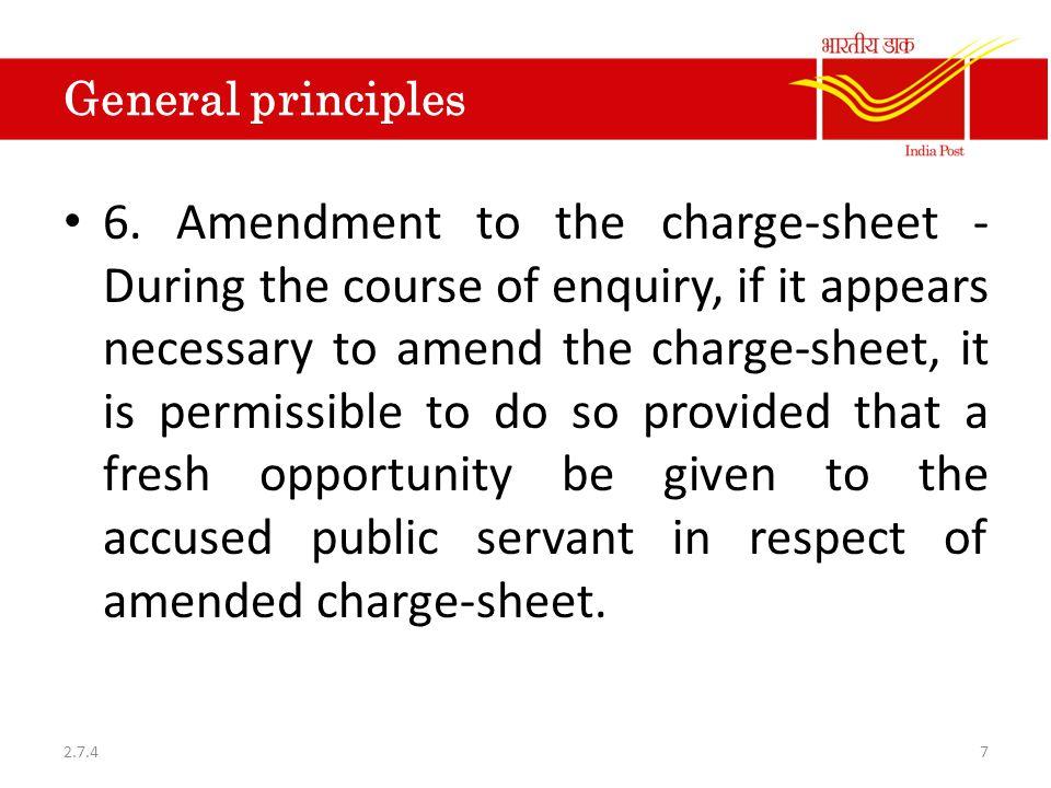 General principles 7.
